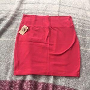 NEVER WORN Hot pink mini skirt